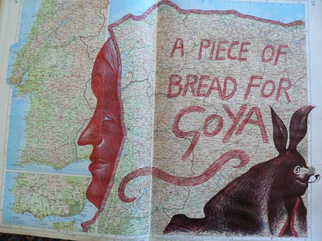 A Piece Of Bread For Goya