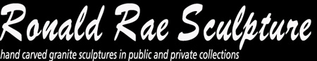 Ronald Rae Sculpture Logo